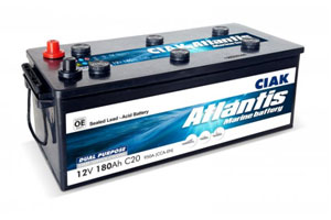 CIAK atlantis akumulatori za brodove